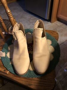 Vince Camuto Prafinta Nude Morocco Ankle Boot Sz 12 M