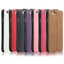 New Magnetic Vertical Flip Leather slot wallet Holder Cover Case Skin