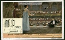 Physics Applied Audio Microphone Invention c60 Y/O Trade Ad Card