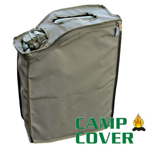 Camp Cover Jerry Can Cover - 20 Litre - Khaki Ripstop - CCM007-A
