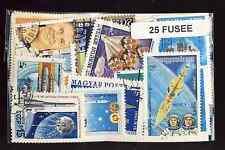 Fusées - Space Rocket 25 timbres différents oblitérés
