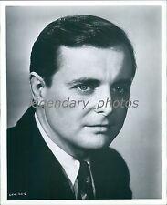 1968 Portrait of Actor William Daniels Original News Service Photo