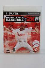 Major League Basebal 2K11 Sony Playstation 3 Game