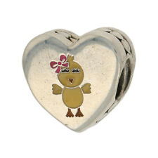 NEW Authentic Pandora You're My Favorite Chick Charm Sterling Heart ENG792015_9