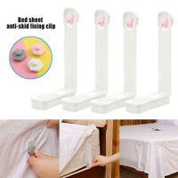 4Pcs/Set Bed Sheet Clip Mattress Holder Fastener Grippers Clips Non-slip Clip ~