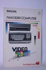 PHILIPS NMS 8280 COMPUTER MSX2 MANUALE USATO OTTIMO STATO ED. ITALIANA BC1 59925