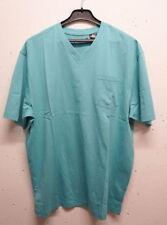 Herren-Freizeithemden & -Shirts aus Baumwolle mit V-Ausschnitt in Plusgröße