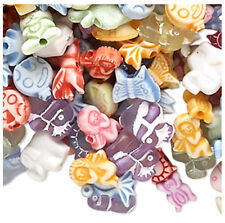 Animal Bead Mix Acrylic Mixed Colors Shapes Lot of 700+ Beads