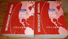 Original 2011 Ford Flex Shop Service Manual Volume 1 & 2 Set 11