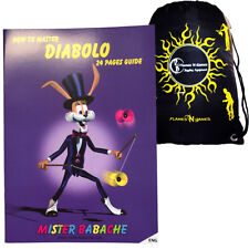 Mr Babache Diabolo Trick Book + Travel Bag! Book Of Diablo Tricks For Beginners