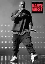Kanye West Poster #8 - American Rapper - music icon - A3 - 420mm x 297mm (NEW)