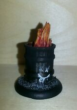 Resin Cast Fire Flame Bits Tokens Counters
