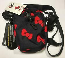 Converse x Hello Kitty Phone Pouch Bag Cordura With Limited Edition Pins BLACK