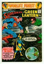 WORLD'S FINEST #201 FN/VF 7.0 SUPERMAN GREEN LANTERN COMIC 1971