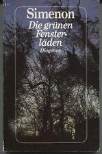 Georges Simenon - Die grünen Fensterläden