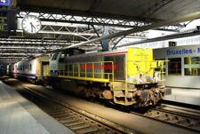 PHOTO  BELGIAN RAILWAYS - SNCB 77 CLASS B-B DIESEL-HYDRAULIC 7722 DOMINO PREPARI