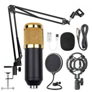 BM800 Set Di Microfoni A Condensatore Per Registrazioni Di Live Streaming H4Y9