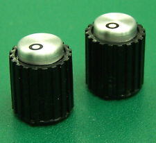 """Lot Of TWO 1/8"""" New Replacement Inner Concentric Knobs for UREI LA-4, 1620 EQ UF"""