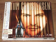 Japan PROMO CD! Tim Christensen MORE LISTED Secrets On Parade DIZZY MIZZ LIZZY