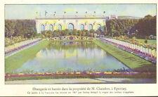 51EPERNAY ORANGERIE ET BASSIN DU CHATEAU CHANDON 1932