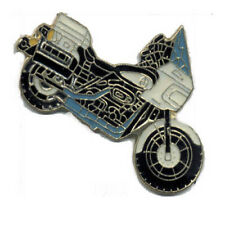 Wholesale Lot of 12 Motorcycle Black Blue White Lapel Hat Pins FAST USA SHIPPING