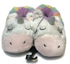 Aroma Home Fuzzy Friends Cosy Ladies Fun Zebra 3D Novelty Slippers