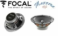 FOCAL COPPIA WOOFER 165MM CASSE 240W ALTOPARLANTI AUTO MEMBRANA POLYPROPYLENE