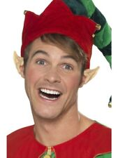 Christmas Elf Ear Tips Pointed Soft Vinyl Fancy Dress Accessory