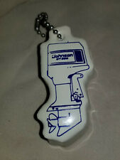 Vintage Nos Floating Key Chain Johnson Gt200 Motor Shaped Float Boat Water