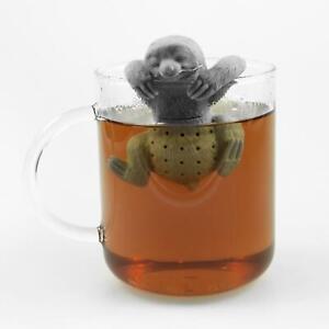 Niedliches Tier Faultier Tee-Ei aus Silikon (BPA-frei) für losen Tee Tee-Infuser