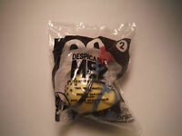 NEW McDONALDS 2013 DESPICABLE ME 2 MINION #2 PHIL JELLY WHISTLE HAPPY MEAL TOY