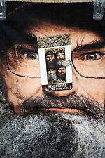 "Duck Dynasty 28"" x 58"" Genuine Realtree Beach Towel with Si, Phil,Jase, & Willie"