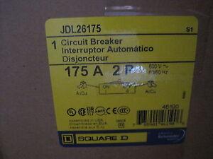 Neuf Scellé SQUARE D JDL26175 Disjoncteur