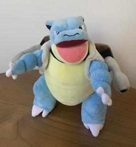 Pokemon Plush Stuffed Animal Toy Blastoise Squirtle Wartortle Turtle 30cm 2017