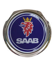 Saab Blue Design Car Grille Badge - FREE FIXINGS