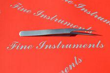 Uhrmacherpinzette halbgebogen / Wimpernpinzette 11,5cm