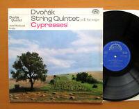 SUA ST 50684 Dvorak String Quintet Cypresses 1965 Supraphon Stereo NM/EX