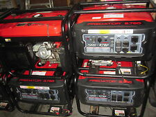 (Lot of 2) Predator 8750 Peak/7000 Running Watts, 13 HP (420cc) Generators