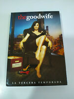 The Good Wife Tercera Temporada 3 Completa - 6 x DVD Español Ingles