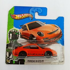 Hot Wheels 1/64 3 inches Porche 911  GT3 RS