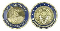 St Michael The Archangel | US Air Force USAF | Security Police | Challenge Coin