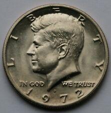 1972 D Kennedy Half Dollar Choice BU Condition US Coin