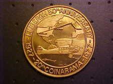 1971 20Tth Coinarama Lindbergh Error medal  Great Collectible!-R G207XXX