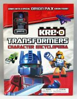 TRANSFORMERS: KRE-O CHARACTER ENCYCLOPEDIA : WITH SPECIAL FIGURE by Brandon T. S