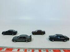 AX791-0,5# 4x Wiking H0 1:87 modello auto Mercedes-Benz 190 E+500 SE,molto buono