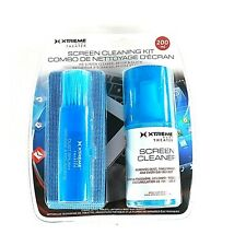 Xtreme Screen Cleaning Kit - HD Screen Cleaner, Brush, & Cloth
