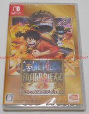 Nintendo Switch One Piece Pirate Warriors Kaizoku Musou 3 Deluxe Edition Japan