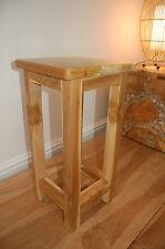 SIDE TABLE o fine tabella PER TAZZA DI CAFFE' - Impianto stand legno massello Teak 27x27x55cm