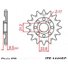 Pignon acier 13 dents jt chaîne 520 suzuki rm-z450 Jt sprockets JTF1441.13SC