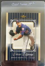 2005 Fleer Classic Clippings Final Edition Johan Santana Non-Numbered Version